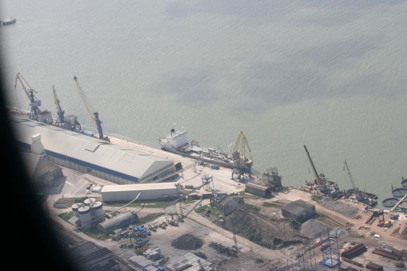 Klaipėdos uoste aptiktas pavojingas radinys.