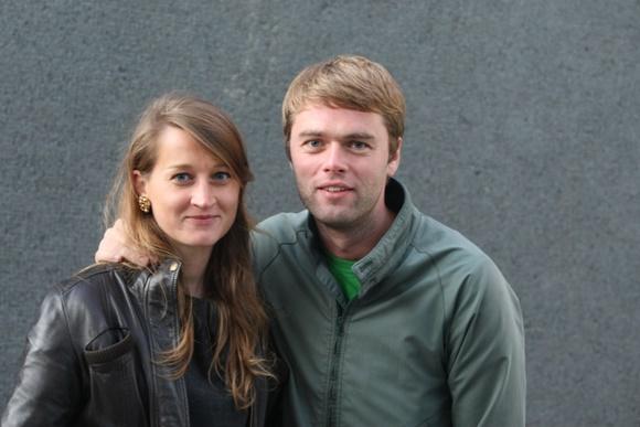 Ignas Krupavičius su žmona Toma