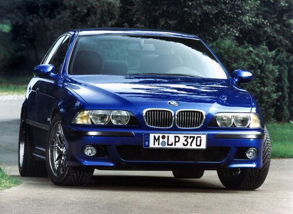 Gamintojo nuotr./BMW M5 E39