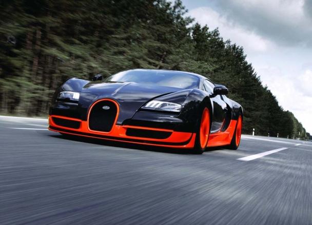 "1. ""Bugatti Veyron Super Sport"""