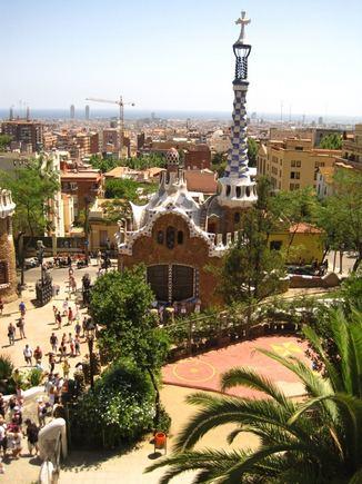 A.Matulaitytės nuotr./Barselonos panorama