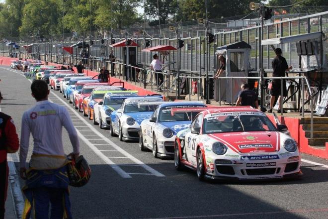 """Porsche Carrera Cup GB"" lenktynės ""Brands Hatch GP"" trasoje"
