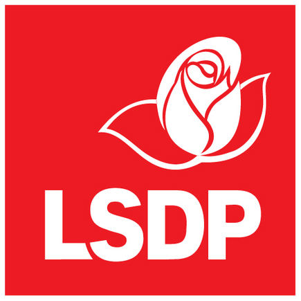 LSDP nuotrauka/LSDP logotipas