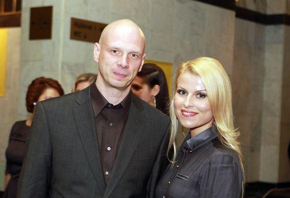 Irmanto Gelūno / 15min nuotr./Rūta Mikelkevičiūtė su vyru Rolandu Remeikiu