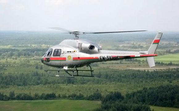 Baltarusijos pasieniečių sraigtasparnis