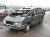 "VSAT nuotr./Kontrabandininkų ""Renault Espace"" po avarijos"
