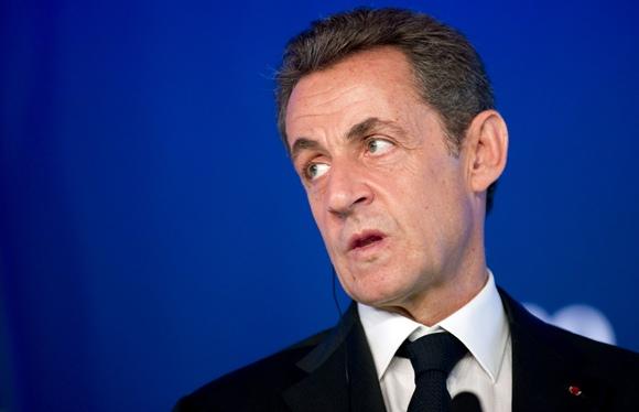 Prancūzijos prezidentas Nicolas Sarkozy