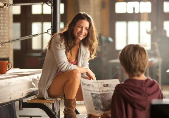 """Evangeline Lilly dramoje """"Grūdintas plienas"""""""