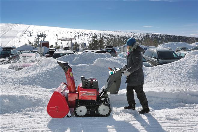 """""""Honda HS1336i"""" sniego valymo mašina"""