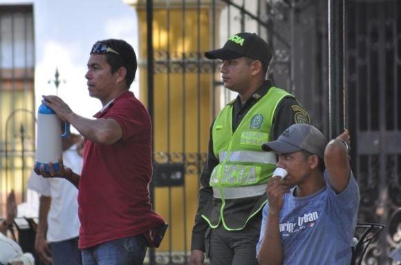 Greitgrisim.lt/Kolumbijos policininkas