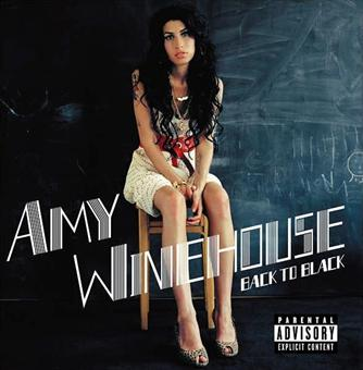 "2006 metų Amy Winehouse albumo ""Back to Black"" viršelis"