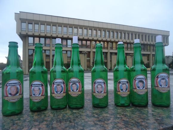 Vardiniai buteliai