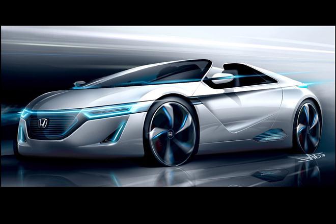 """Honda"" nedidelis sportinis elektromobilis"