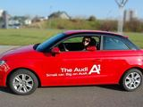 "autoledi.lt nuotr./Joana Survilaitė ir ""Audi A1"""
