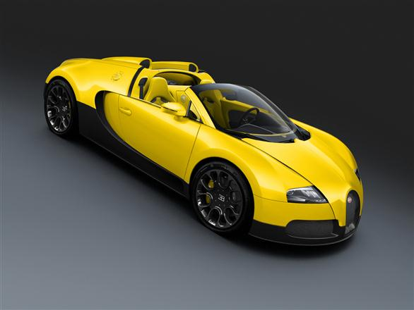 """Bugatti Veyron Grand Sport"""