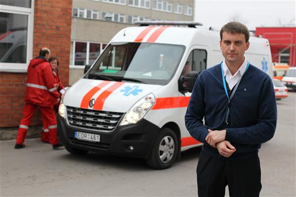 N.Mikelionis teigė, jog įdiegus naują dispečerinės sistemą, nelaimės ištiktieji greičiau sulauks pagalbos.