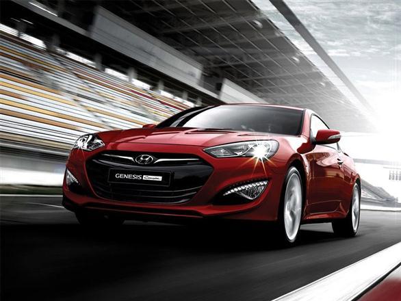 """Atnaujintas """"Hyundai Genesis Coupe"""""""