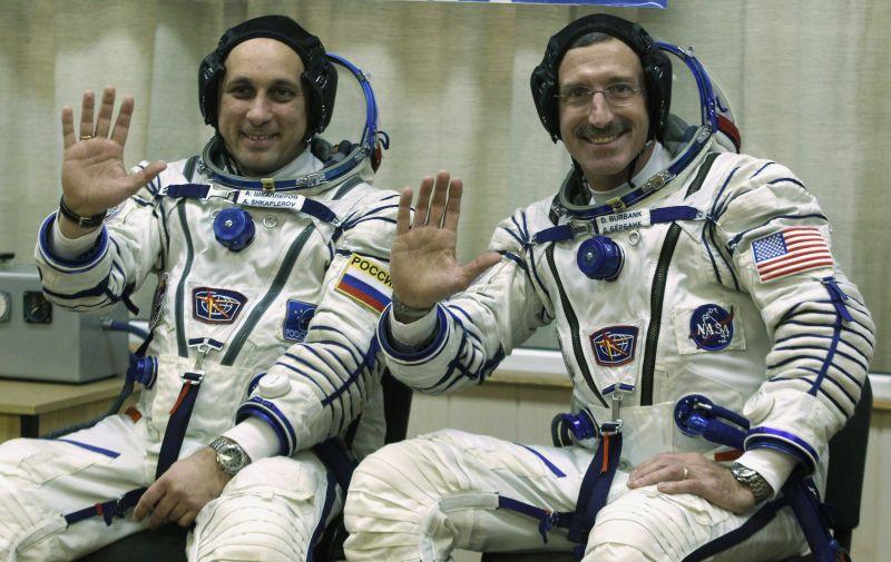 Rusijos ir Amerikos astronautai