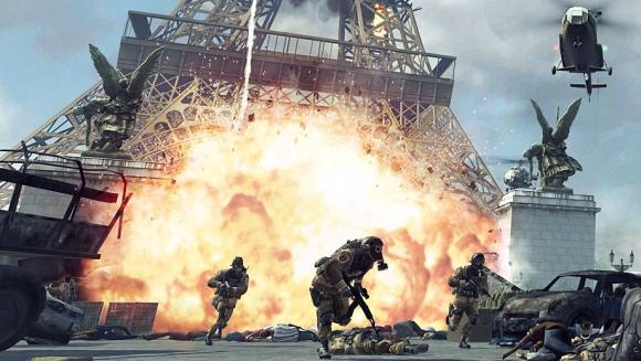 """Call of Duty: Modern Warfare 3"" žaidimo kadras"