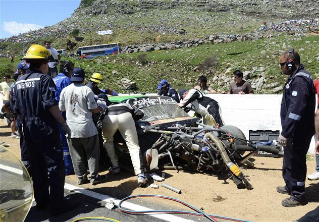 """Tragiška avarija """"Turismo Carretera"""" lenktynėse"""
