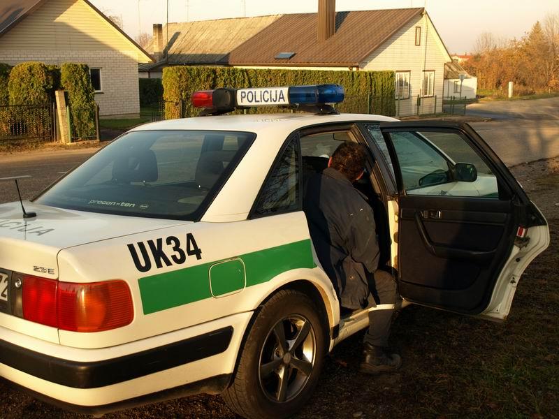 Ukmergės rajone nubausti neblaivūs vairuotojai
