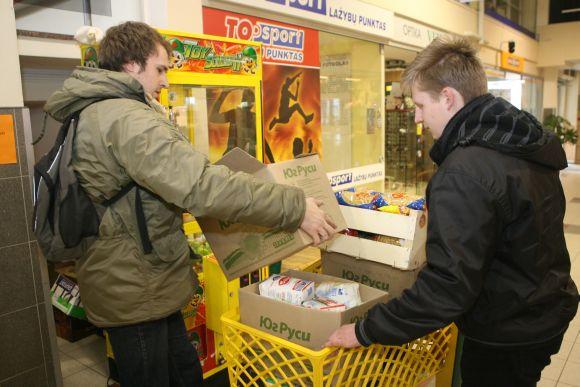 Paramos maisto produktais kasmet laukia vis daugiau šeimų.