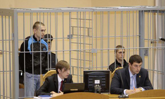 Minsko metro sprogdintojų teismas