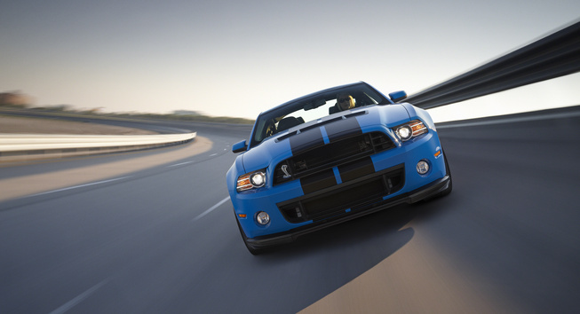 """Ford Shelby GT500 Mustang"" – 650 AG turintis monstras"