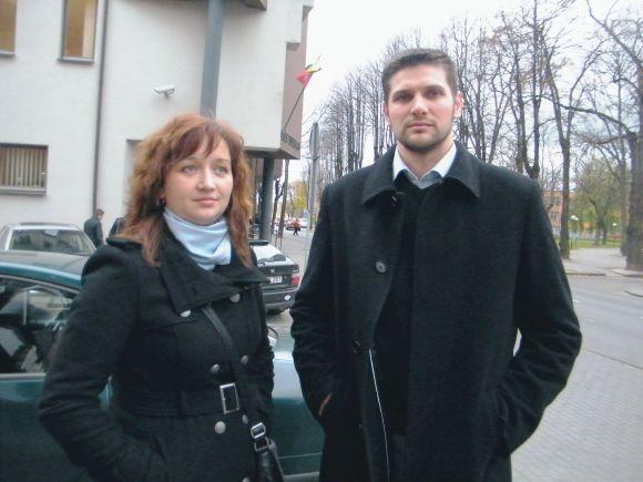 Maršrutinių taksi įmonių savininkai M.Gumbakienė ir A.Tamavičius pasirengę vežėjų ir keleivių interesus ginti teisme.