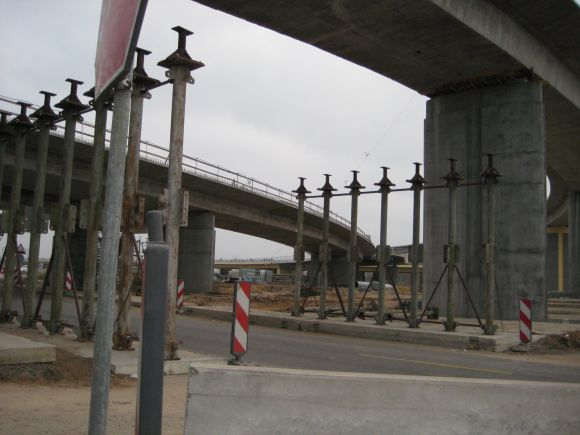 Jakų žiedo rekonstrukcija tęsis iki 2012-ųjų lapkričio.