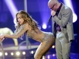 "AFP/""Scanpix"" nuotr./Jennifer Lopez ir reperis Pitbullis"