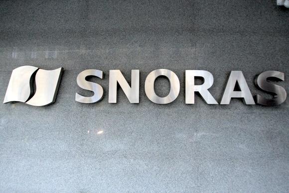 """""""Snoras"""" logotipas"""