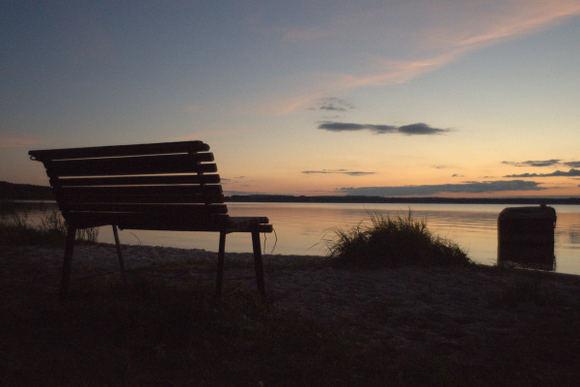 M.Abramavičiaus nuotr./Vakare prie Dusios ežero