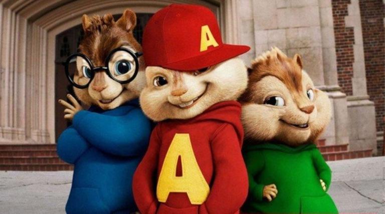 """""""Alvinas ir burundukai"""""""