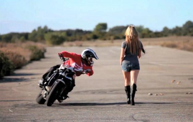 Driftas motociklu