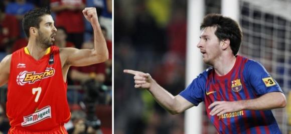 Juanas Carlosas Navarro ir Lionelis Messi