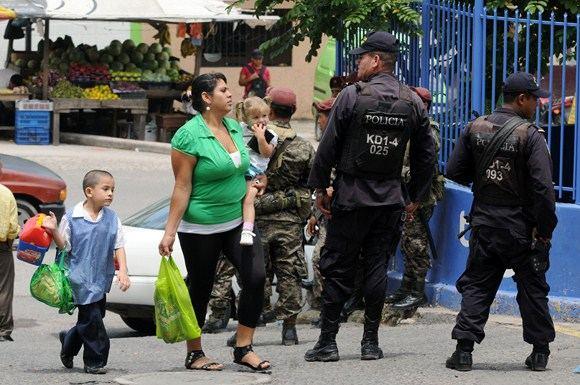 AFP/Scanpix nuotr./Hondūras