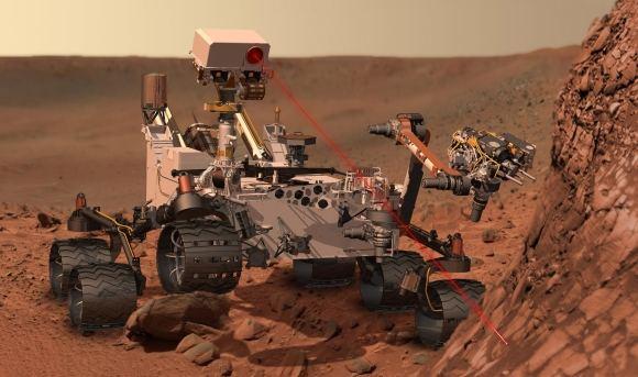 Scanpix nuotr./Marsaeigis Curiosity