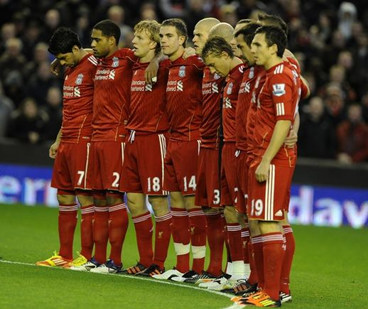 Reuters/Scanpix nuotr./Liverpool futbolininkai