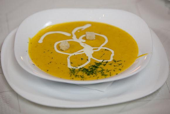 Eduardo Bareikos nuotr./Moliūgų sriuba