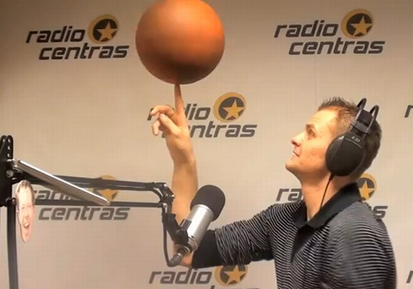 Renaldas Seibutis radijo laidoje