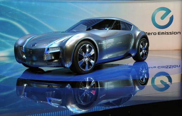 Gamintojo nuotr./Nissan ESFLOW elektromobilis