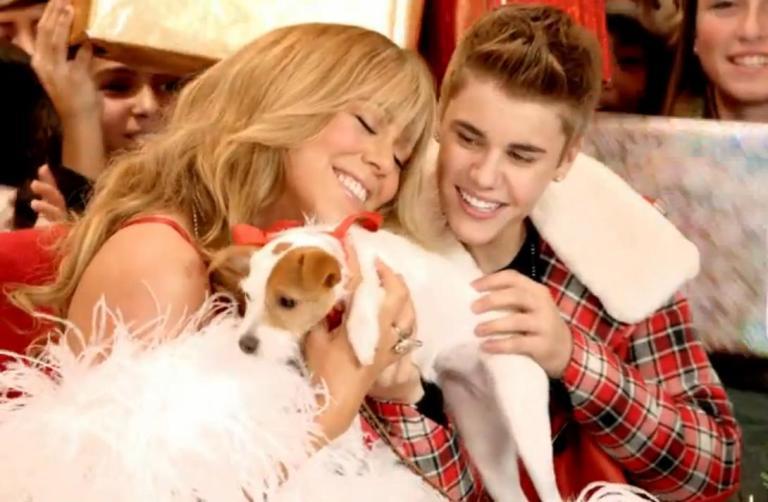 Mariah Carey ir Justinas Bieberis naujajame vaizdo klipe