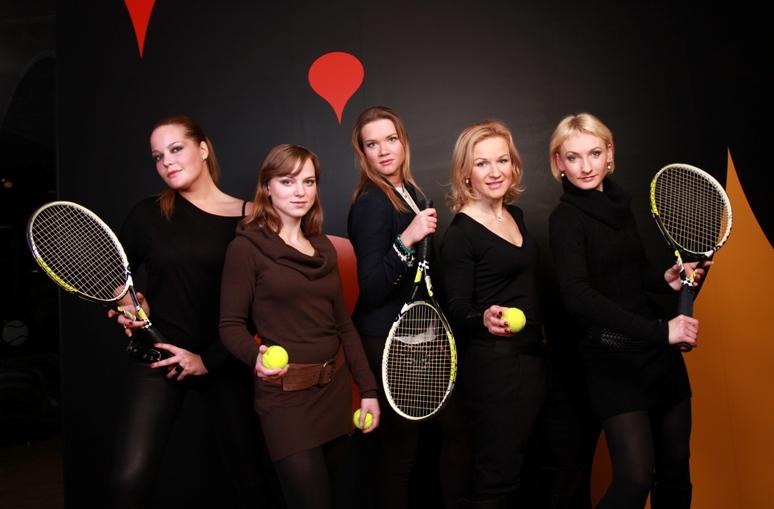 SEB arenoje vyko moterų teniso turnyras