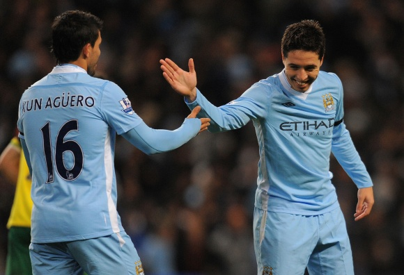 """Manchester City"" nemažina apsukų."