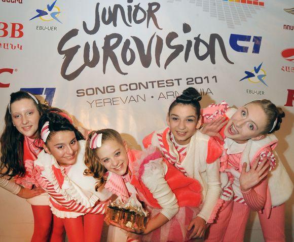 """""""Vaikų Eurovizijos"""" nugalėtoja – Gruzijos grupė """"Candy"""""""