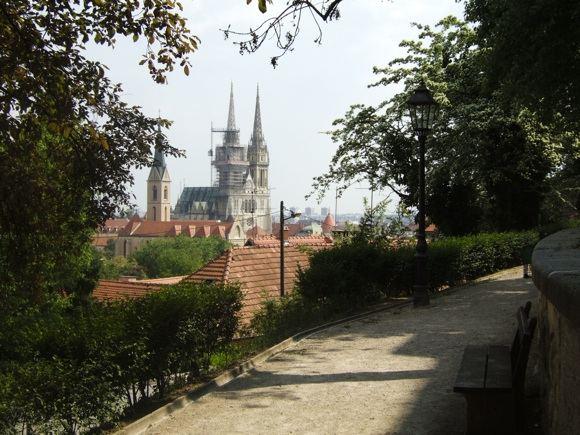 123rf.com nuotr./Zagrebo katedra