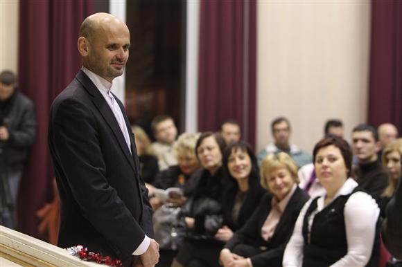 """Kaune įsikūrusio judėjimo """"Dirbam Kaunui"""" vienas iniciatorių – G.Labanauskas."""