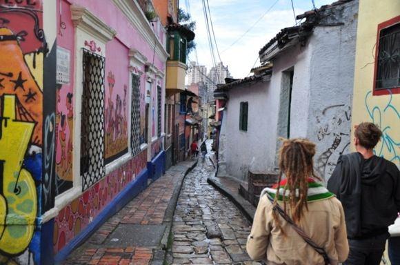 Greitgrisim.lt nuotr./Spalvotos Bogotos gatvės