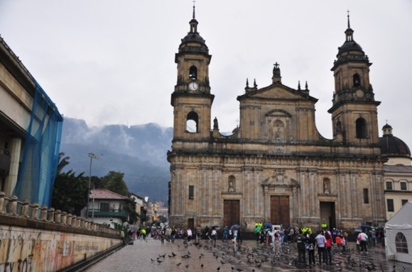 Kolumbijos sostinė Bogota užburia savo dvasia